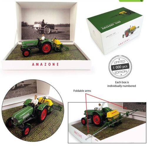 Amazone S300 met Fendt Farmer 2 Set