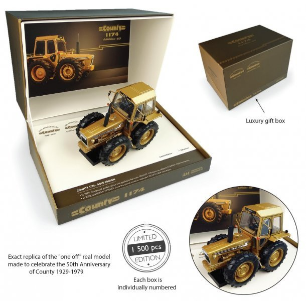 Ford County 1174 Gold Edition