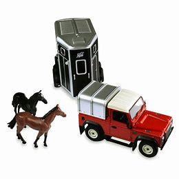Land Rover Paardenset