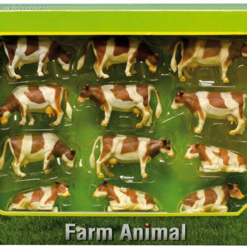 Roodbonte Koeien (12 stuks)