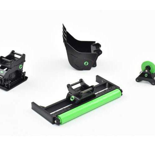 Steelwrist Accessoires Set met S60 Koppeling