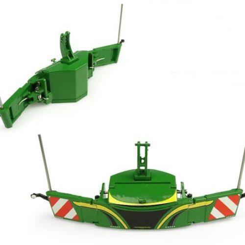 Tractorbumper Safety Weight 800 Kg Groen