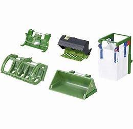 Voorlader Accessoires Set Groen