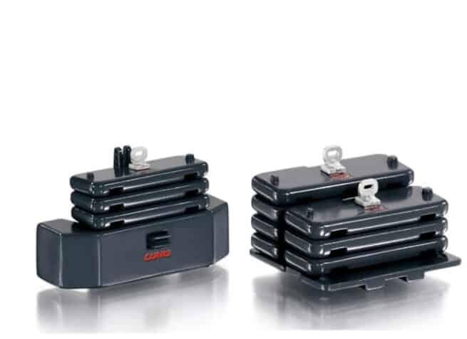 Ballast – Gewichten Set voor Claas Xerion 4500