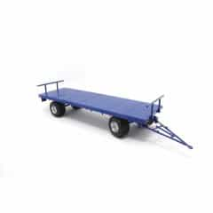 Landbouwwagen 4-Wielig Blauw