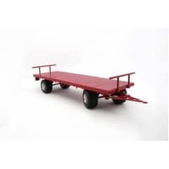 Landbouwwagen 4-Wielig Rood